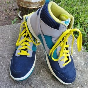 2013 Nike Dunk High 317982-415 Hi-Top Sneakers 11
